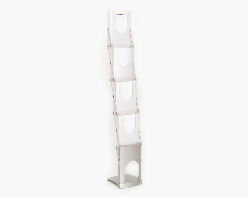 Frame van de Brochure Stand. Het zijn duurzame onderdelen die niet breken of krassen.