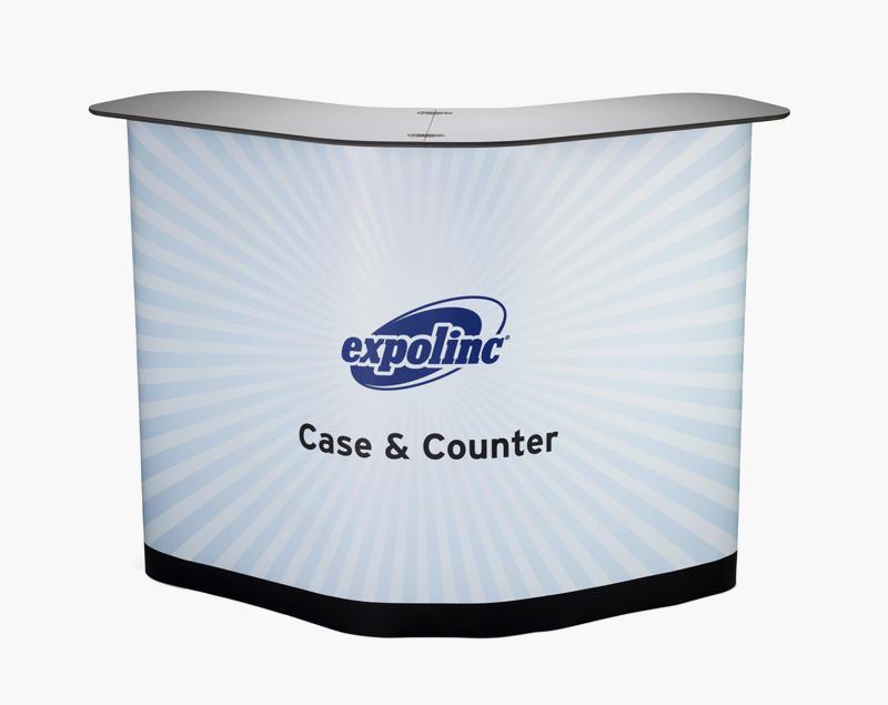 Vooraanzicht Case & Counter