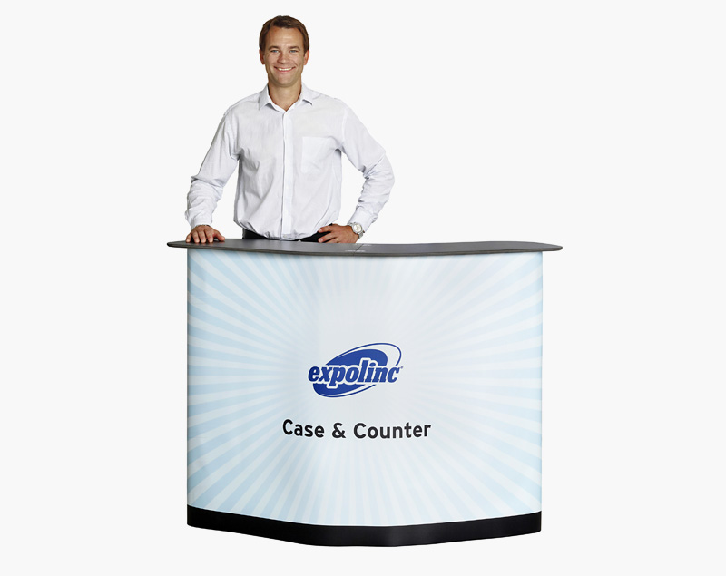 Vooraanzicht Case & Counter