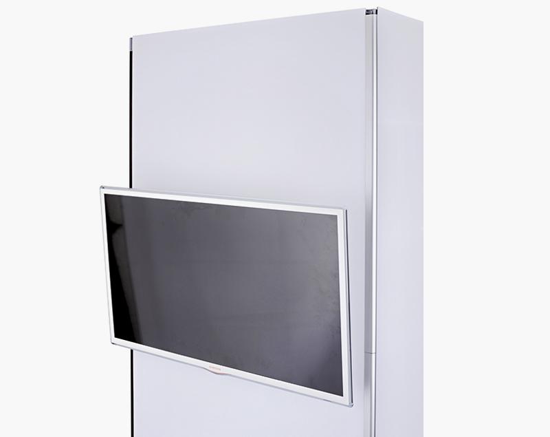 Met de monitorhouder kunt u een monitor bevestigen tot 8 kilo.